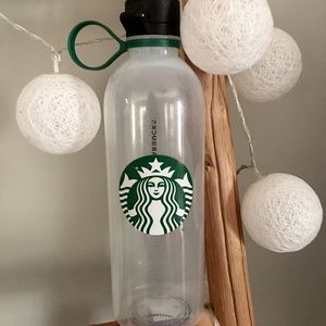 Starbucks ♻️ water bottle recycled plastic limited